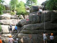 Group Climbing in Kent