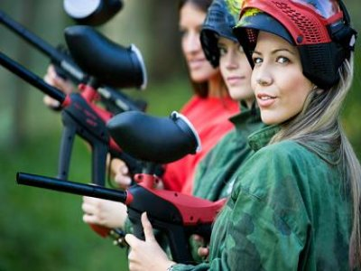 Paintball with 100 balls Palencia
