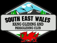 South East Wales Club Paragliding Logo