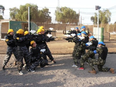 Paintball with 150 paintballs, Guimar