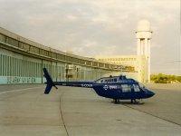 Bell 206 JetRanger visiting Berlin