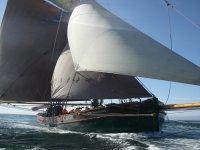 Sailing the open seas