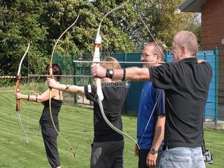 Archery is a great activity.