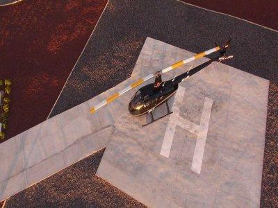 35 min helicopter tour in Isla Baja, Tenerife