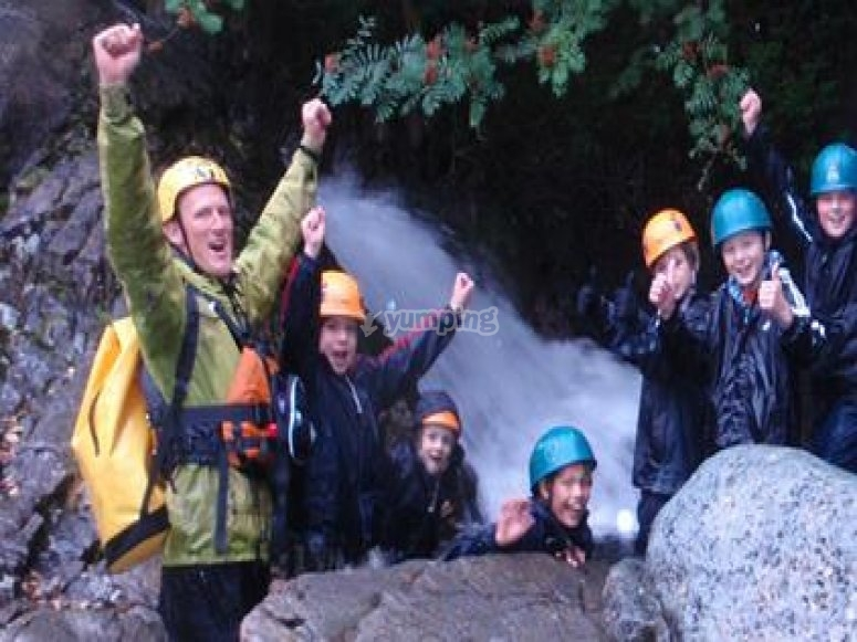 Caving is so much fun.