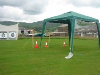 Outdoor competition area