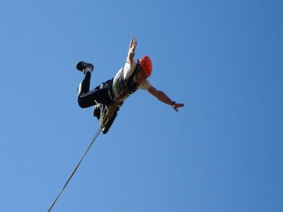 Bungee Jumping in Lebor, Totana, 2 Jumps/Person