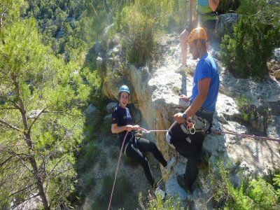 Dry Canyoning Descent, Tolosa