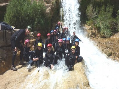Canyoning descent