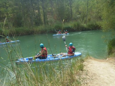 Kayaking, lunch and accommodation