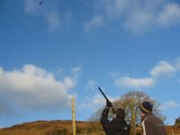 Clay pigeon shooting with instruction