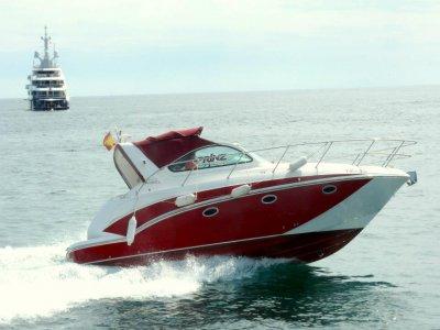 1 or 4 hours yacht rental in Marbella