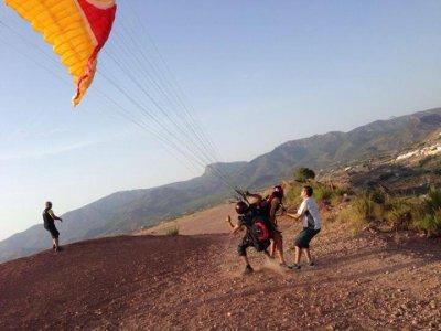 Paragliding in La Alhama de Murcia