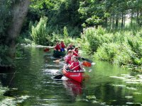 Canoeing is a fun activity for families with children