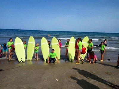 Campamentos Mediterráneo Campamentos de Surf