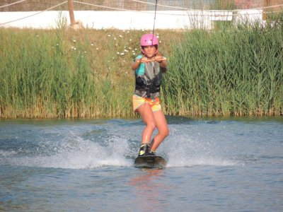 1h Wakeboarding course in San Carles