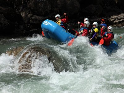 Rafting and canyoning package in the Pyrenees
