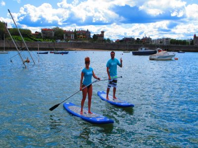 Paddle Surfing in the estuary of Bilbao, 2 hours