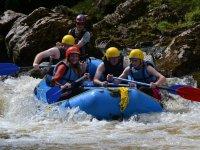 We love rafting