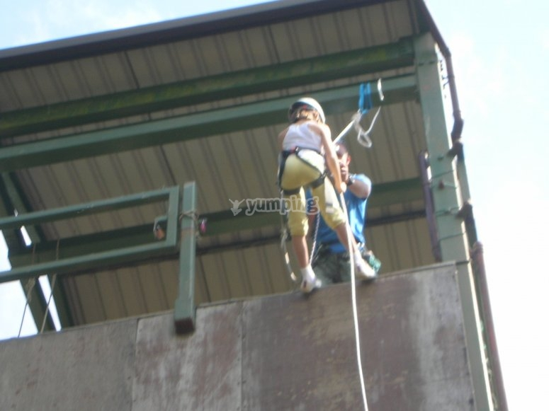 Abseiling in Sussex