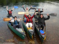 Canoeing makes for a great group activity