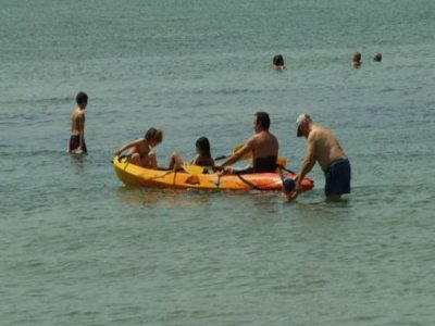Individual kayak renting, La Manga, 3h