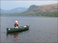 Canoeing on the Derwent