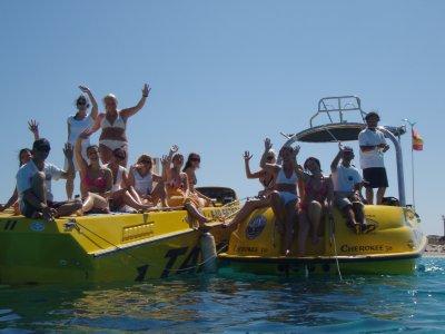 Boat rental high season Ibiza 1 day