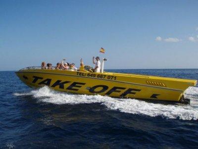 Season boat rental in Ibiza