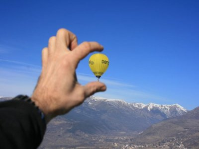 Exclusive balloon flight in Barcelona (1 hour)