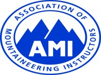 Climbing is lead by AMI members