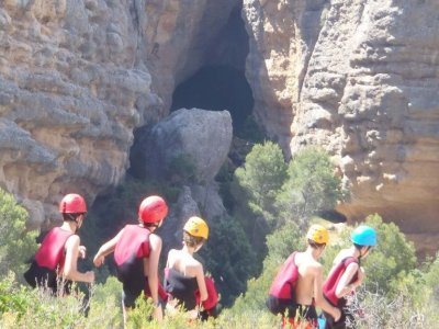 Canyoning for starters in Canaletes, 4 hours