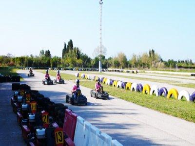 3 Rounds Karting Racing with Podium