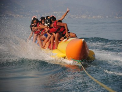 8-Minutes Banana Boat Ride in Torremolinos