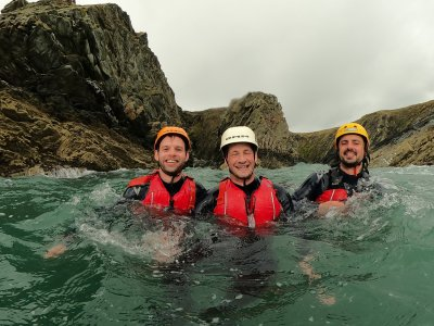 Coasteering Session in North Wales Half Day