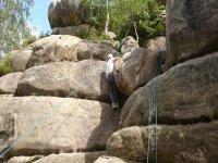 At harrison Rocks