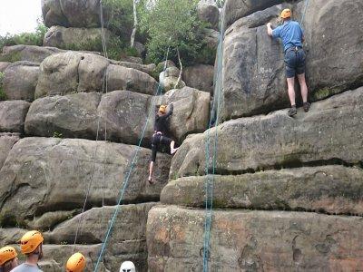 Outdoor Rock Climbing Experience Kent