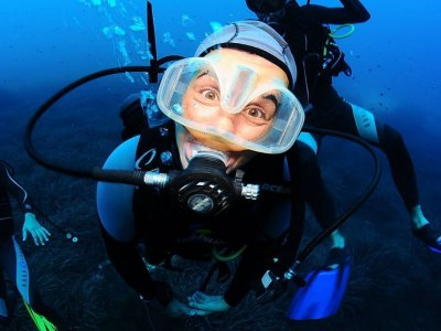 Voucher 4 diving immersions in San Antonio