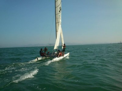 Basic course catamaran, Los Alcazares,10h