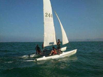 Catamaran Rental in Los Alcázares - 1h