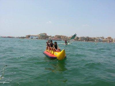 Banana boat session Los Alcazares 15 minutes