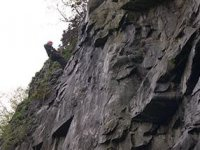 Experience abseiling down rock faces