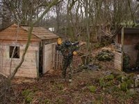 The ´Charlotte´s Shack´ paintball site