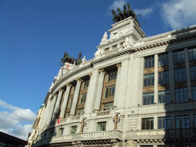 Powerful Buildings Route Through Madrid