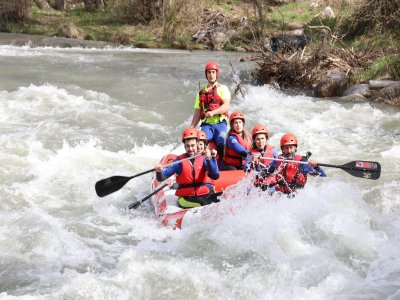 Canyoning or Rafting & Accommo. Lleida 1 Day