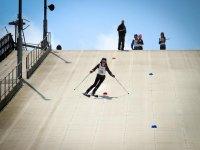 Dry slopes at Arbroath Ski Club