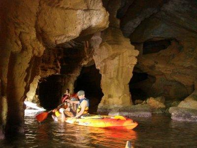 Individual kayak ride in Denia, 8 hours