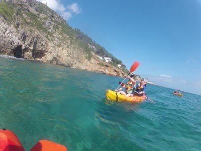 Two-seater kayak rental Denia, 8h