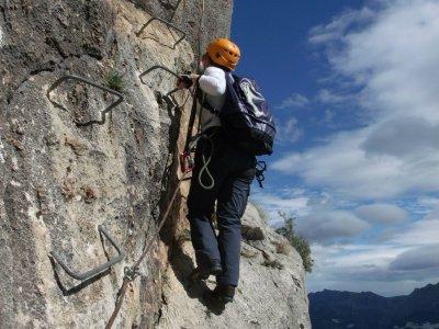 Mountain trail in Alicante