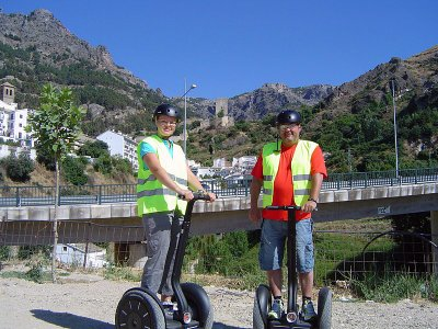 Segway route in Cazorla, 1h
